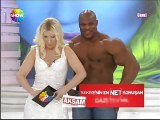 Catherine bosley naked anchor video Sexy blonde turkish anchor with big man on tv show