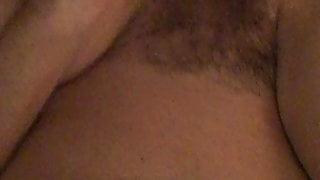 Wife fucked hairy orgasm vibrator