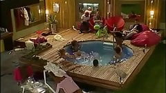 Big Brother Naked Pool Orgy