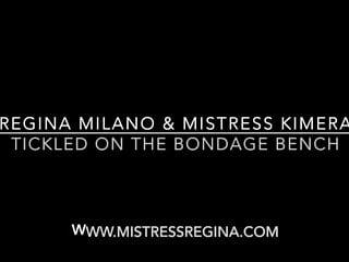 E lingerie bondage Mistress kimera e mistress regina