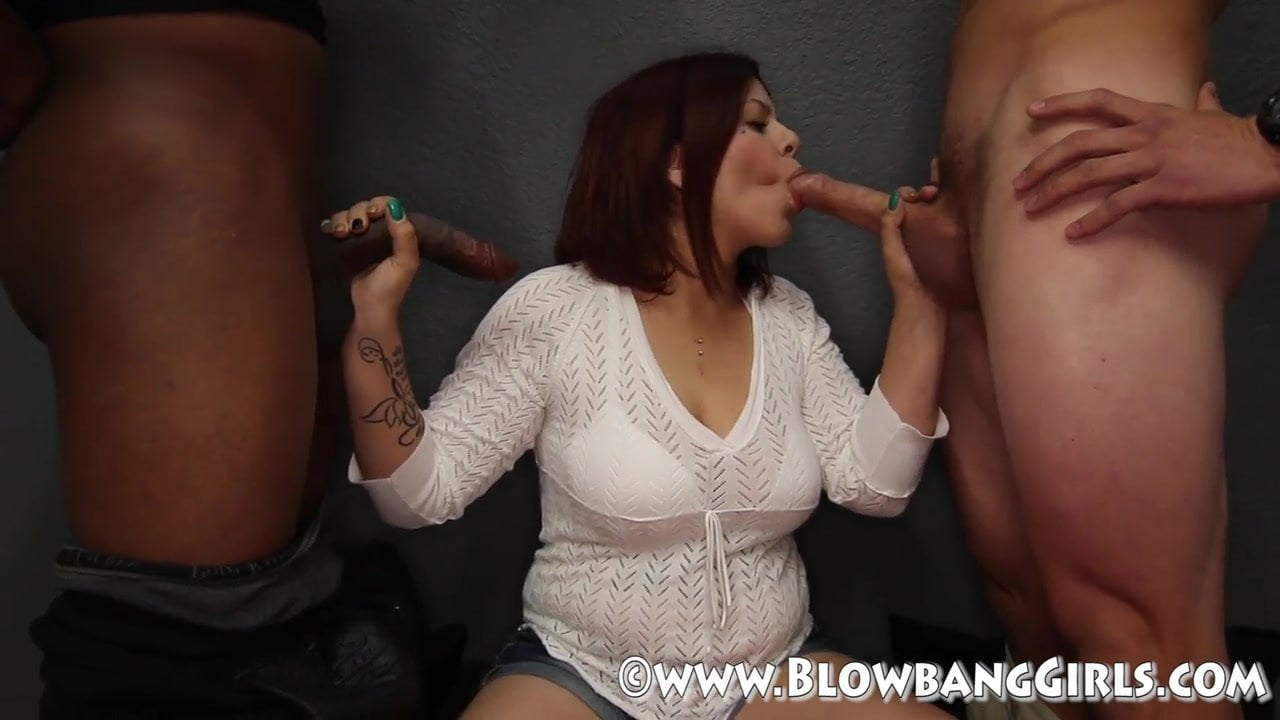 Big Tit Harley Sucks of 6 Guys in Blowbang - xHamster