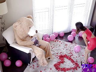 Girls fucking teddy bear Fucking the valentine teddy bear with stepbro inside s9:e7