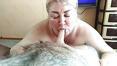 blowjob from mother - in-law at lunchtime 1