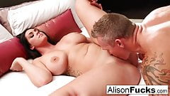 Горячий трах в гостиничном номере с Alison и Marcus