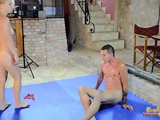 Porn star stacy jordan - Stacie star wrestles with her new toy sebastian