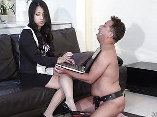 Dog and human porno - Japanese femdom satomi human ashtray and human cooking