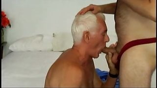 old men sucking then fucking a fat girl