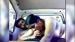 Horny Marathi Aunty fucking inside car with Boyfriend