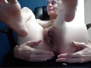 Gaped pussy Huge pussy