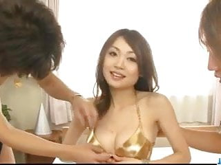 Free sex seories Sara seori amazing porn show on two massive cocks