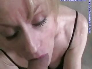 Nude chick gives great blowjob Mature blondie gives great blowjob