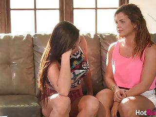 Busty lesbian teen girl threesome - Lesbian teen keisha grey eaten out by busty blonde threesome