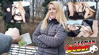 GERMAN SCOUT - CURVY MILF SABRINA PICKED UP AND FUCKED IN BERLIN