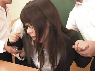 Japanese class sex videos - Super hot teacher gets fucked and creamed in class