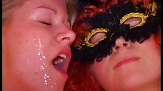 Amateur threesome hardcore with facial cumshot