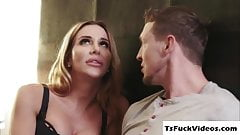 Gorgeoustranny Marissa Minx and Dude anals each