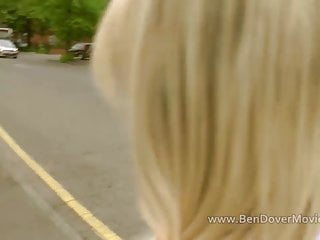 Blonde cock licking Hot blonde chessie kay takes old cocks