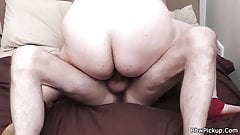 Chubby picked up and fucked