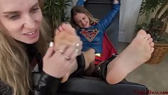 TickleAbuse Naomi Swann Supergirl tickled