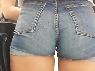big sexy ass Jeans Shorts 2 hd 2015
