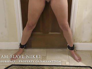 Tit torture drawimg - Slave nikki, second tit torture on video