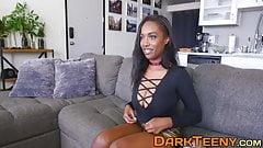 Ebony princess Daya Knight knows how to ride a dick