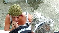 Milf faehrt wegen Sex in der Mittagspause zu ihrem Mann