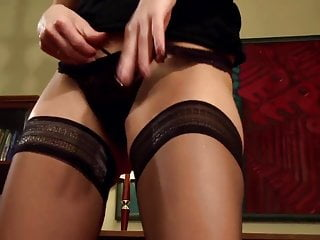 Stacy ferguson lingerie Stacy fucked in thigh high stockings and heels