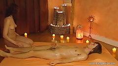 Having Fun With Handjob Massage