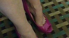 Net friend with my exgfs heels