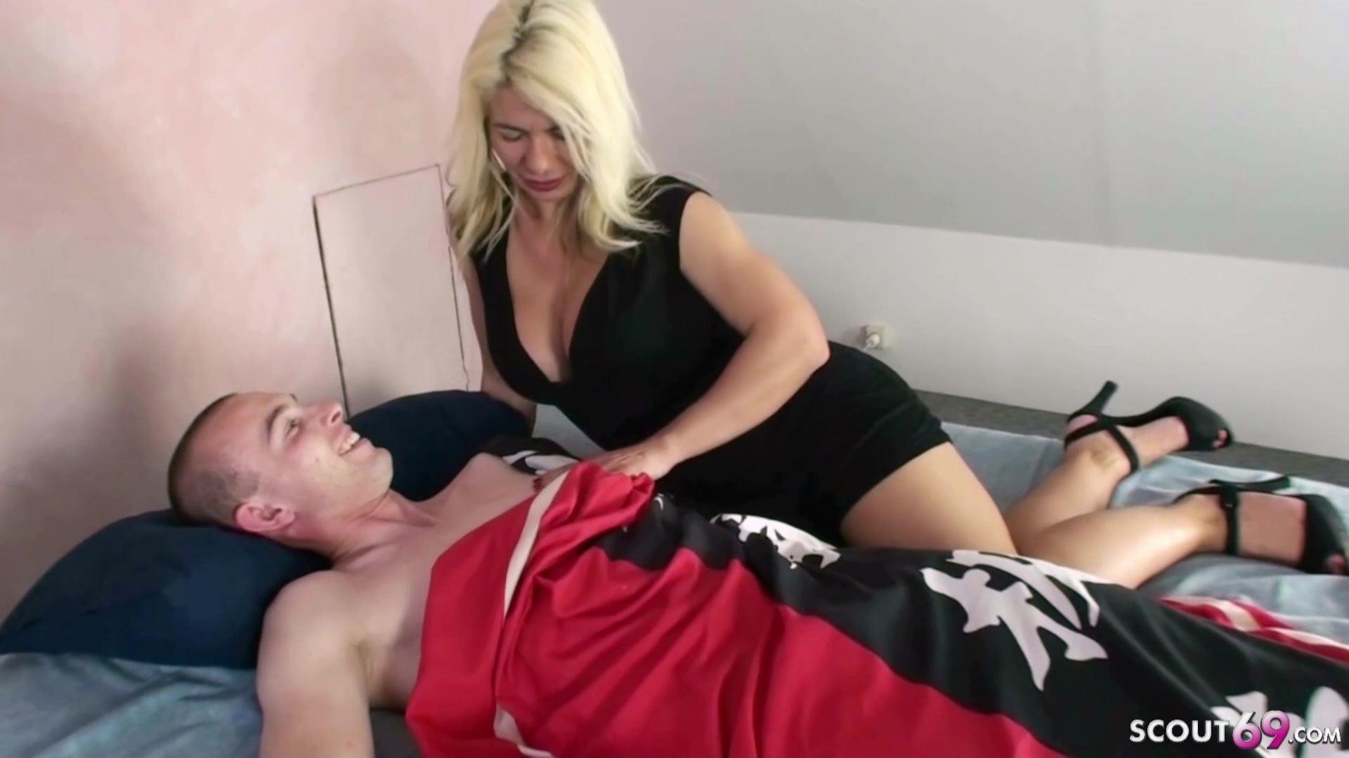 German step mom loves my dick