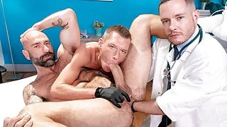 Deviant Proctologist Fisted By Skinny Patient