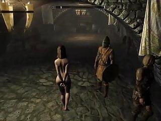 Peril erotic Perils of escaped skyrim slavegirl 08