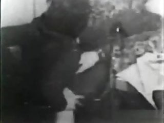 Stag party cum Vintage stag movie 1920s - 1950s
