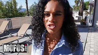 Horny Ebony Babe Scarlit Scandal Gets Fucked Hard In Pov