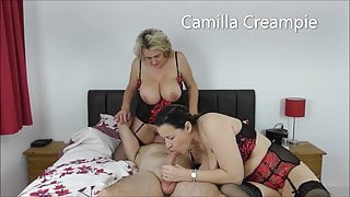 At Home with the Creampies with Eva Jayne on the Bed – Promo