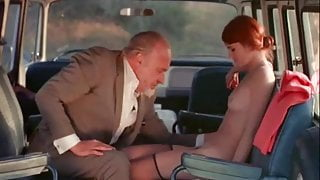Sex-addicted Chick Fucks in a Bus (1970s Vintage)