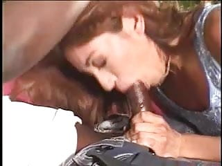 White girls pussy getting fuck - White girls mouth gets fucked with big black shaft