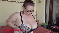Busty Carmen from Romania tries on big bras
