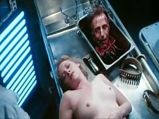 Animations of naked celebrities - Barbara crampton in re-animator