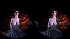 Triss Brought You A Gift For Yule Hentai Vr porn