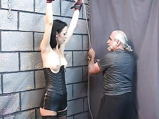 Picture sex shocking young Cute young brunette is excited to have her nipples shocked with electricity