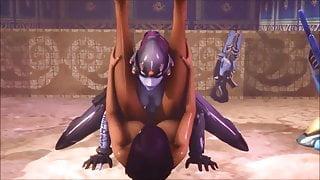 Futa Widowmaker fucks Pharah (3D Animated)