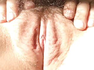 Hairy blond female Female orgasm