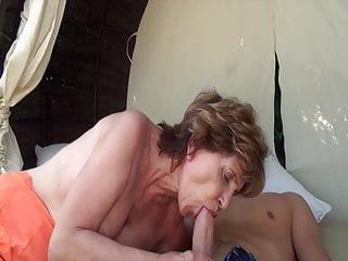 Grandma sucks my cock Grandma sucks my dick