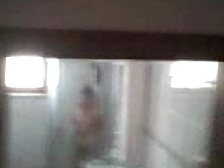 Naked wemon in shower - Chinese granny mature naked in shower