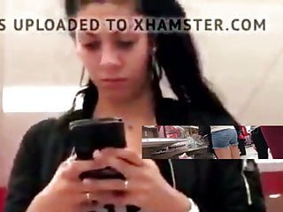 Sexual text message Texting teen has her camel filmed while distracted