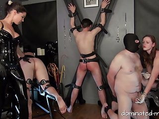 Men being whipped by femdoms videos - Men in distress - slaves in trouble
