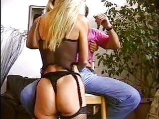 Princess yvonne stripper - British slut yvonne gets fucked in a ffm threesome