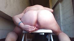 Joey D sunlight round anal hole contractions